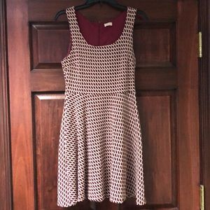 Pixley via Stitch Fix Sleeveless Skater Dress - M